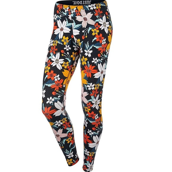 ac64a074208ba Nike Pants   Legasee Leggings Hawaiian Floral Jdi 718770   Poshmark